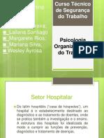 SEMINARIO DE PSICOLOGIA ,sobre psicologia do trabalho