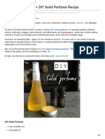 veganbeautyreview.com-Jojoba Oil Benefits  DIY Solid Perfume Recipe
