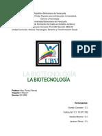 biotecnologia nuevo