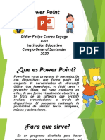 Diapositiva PowerPoint 2020