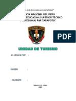 UNIDAD DE TURISMO -2020