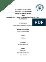 Lesiones Oseas y Diafragmaticas