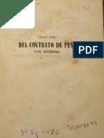 tratadoDelContratodeEmpeño (Pothier)