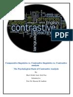 contrastive linguistics هند المحاضرة الاولى - Copy.docx