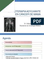 Quimioterapia adyuvante en cáncer de mama 2