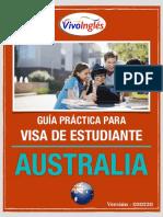 Guía Visa Estudiante Australia