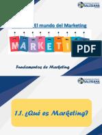 UNIDAD 1 El mundo del marketing