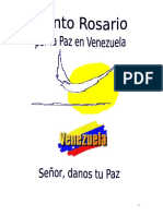 Rosario por la Paz  de Venezuela