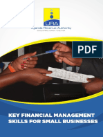 KEY FINANCIAL MANAGEMENT SKILLS FOR SMALL BUSINESSES - English