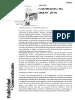"""1) BAUDRILLARD, Jean; """"Crítica de la economía política del signo""""; .pdf"""