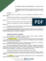 Aulas de Patologia II - Curso de Medicina