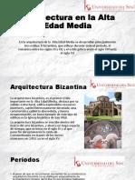 Arquitectura en la Alta Edad Media (Wilfran).pptx