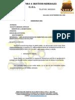 COTIZACION MOVIMIENTO DE TIERRAS BENEFICIENCIA OKOKOK