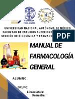 Manual Farmacología 2020-I UNAM