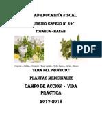 CLUBES PLANTAS MEDICINALES COLEGIO SAN PEDRO