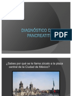 Diagnóstico de pancreatitis