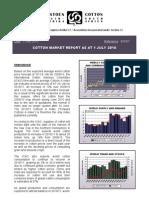 Cotton Sa Market Report - Jul 10 Website