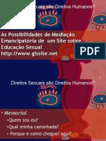 Direitos Sexuais São Direitos Humanos - Power Point