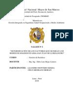 Informe - Gestión RRSS - SJL