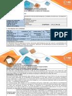 Guía de Actividades y Rubrica de Evaluación Actividad 5 – Evaluación Final
