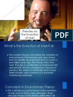 Theories on the Evolution of Man.pptx