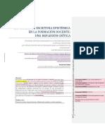 LAS TAREAS DE ESCRITURA EPISTÉMICA EN LA FORMACIÓN DOCENTE.docx