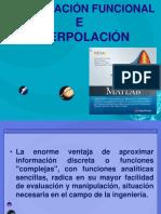 AJUSTE DE DATOS E INTERPOLACION
