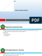 10.   FLOOD ROUTING