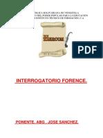 INTERR. FORENCE, FOTOGRAFIA FORENCE Y CRIMINALISTICA.SANCHEZ..docx
