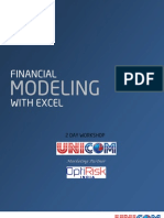 Real Estate Financial Modeling Training Brochure | Internal Rate Of