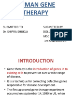 HUMAN GENE THERAPY.pptx