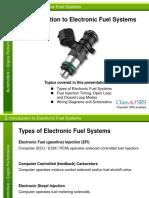 Presentation Electronic Fuel System