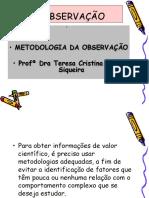 A OBSERVAÇÃO-2.ppt