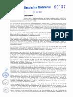 R.M. N°132 y Reglamento.pdf