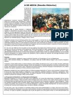 BATALLA DE ARICA Historia Completa