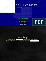 DEFCON-26-zerosum0x0-Eternal-Exploits.pdf