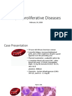 Myeloproliferative Diseases 2020