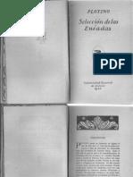Plotino - Selección de las Eneadas (UNAM 1923)