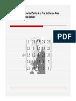 Clase 2b Algebra de matrices