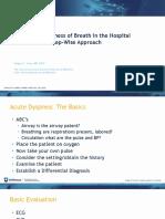 Sudden Shortness of Breath 2019 - SA 3-5-19 - Gregory Kane, MD.pptx