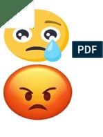 caras de emociones