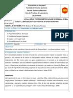 DESARROLLO DE UN TINTE COSMETICO A BASE DE SEMILLA DE Bixa orellana L. (BIXACEA) Y EVALUACION DE SU EFECTO IN VITRO
