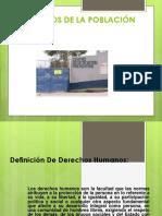 DERECHOS DE LA POBLACIÓN RECLUSA expocicon