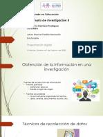 Obtención de información en investigación