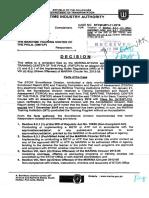 TMTCP Marina Decision.pdf