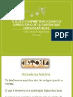 Curso Basico  (revisado) - O que é o Espiritismo