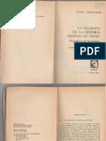 SCHNÄDELBACH, H. - La Filosofía de la Historia Después de Hegel (El Problema del Historicismo) [por Ganz1912]