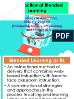 The Practice of Blended Learning