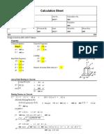 Column Base Plate (large eccentricity) v2.0