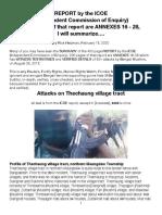 ICOE-Thechaung Attacks, Summarized